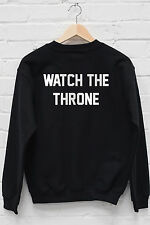 Watch The Throne Hoody JayZ Beyonce Yonce Carters On The Run Blue Ivy Gift W145
