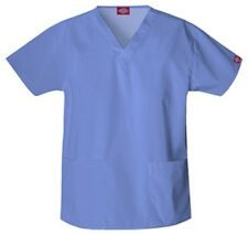 DICKIES MEDICAL (EDS) EVERY DAY SCRUBS MISSI FIT WOMEN'S V NECK TOP ASST COLORS