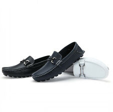 Men's Driving Casual Boat Shoes Leather Shoes Moccasin Slip On Loafers Deck