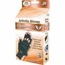 Copper Hands Compression Gloves For Arthritis Choose Size - As Seen on TV