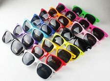 Fashion Women Mens Candy Color Sunglasses Vintage Style Shades Glasses 15 Colors