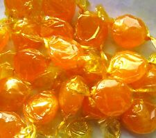 Old Time Favorite Butterscotch Hard Candy Disks Single Wrapped  1/2 - 20 lb