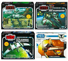 "STAR WARS Large Class Vehicles for 4"" Figures NEW! - Walkers, Jedis, Fighters"
