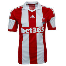 New Mens Stoke City Home Football Shirt Top 2013/14 - S, M, L, XL, XXL - F40590