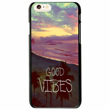 Good Vibes Hipster Quote Pattern Hard Cover Case For Apple iphone 6 /6 Plus