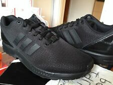 Adidas ZX Flux Triple Black Elements Pack Blackout Prism Print Photo Ocean Wave
