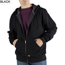 Dickies TW382 Thermal-Lined Zip-Front Hooded Sweatshirt **Free US Shipping**