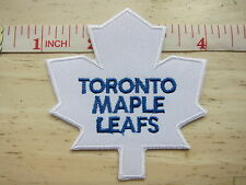 NHL Toronto Maple Leafs Logo embroidered Iron on Patch High Quality Shirt