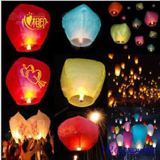 Wedding Birthday Party Pray Lantern Sky Float Candle Lamp Chinese Paper Lantern