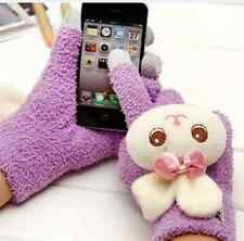 Lovely Unisex Warm double thickening cartoon wool gloves