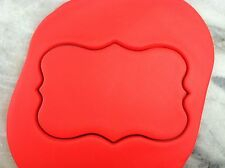 Plaque #2 Cookie Cutter CHOOSE YOUR OWN SIZE!