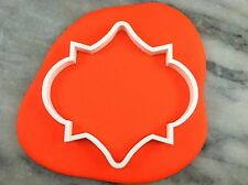 Plaque #8 Cookie Cutter CHOOSE YOUR OWN SIZE!