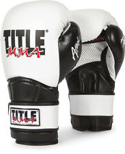 TITLE MMA Training Gloves Boxing Equipment Kickboxing Muay Thai Workout Gear