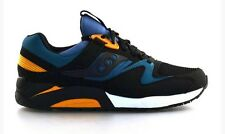 Men's Saucony Grid 9000 Black Green S70077-25 Running Trainer