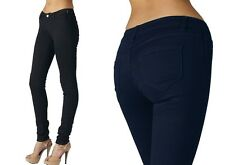 Super Stretch! PLUS SIZE Jeggings Skinny Big Womens Jeans Denim Black Navy Pants