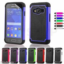 NEW SHOCK PROOF CASE COVER FOR Samsung Galaxy ACE 4 SCREEN PROTECTOR