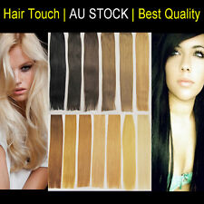 20 inches Double Drawn I Tip Micro Bead Remy Human Hair Extensions Extra Thick