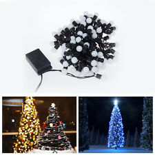 Waterproof Outdoor 72 Led Bombillas 10M Christmas Tree Holiday Party Fairy Light