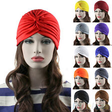 Cool Chic Unisex Indian Style Stretchable Turban Hat Hair Head Wrap Cap Headwrap