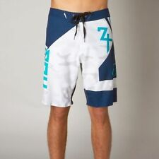 Fox Racing Mens Swimwear Intake Boardshorts White 08751 New With Tag
