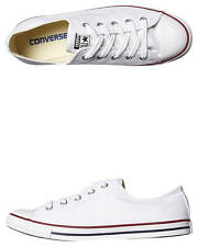 New Converse Chuck Taylor Womens All Star Dainty Lo Shoe -Mc- Shoes White