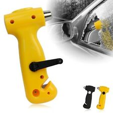 3 in 1 Car Safety Emergency Hammer LED Torch Flashlight Beacon Light Belt Cutter