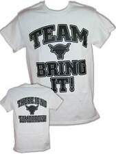 The Rock Team Bring It There Is No Tomorrow Mens White T-shirt