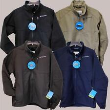 NEW COLUMBIA ASCENDER II SOFTSHELL JACKET Men's S-2XL Black/Blue/Brown/Grey