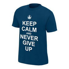 John Cena Keep Calm Never Give Up WWE Authentic T-shirt