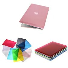 """New 3 Colors Crystal Hard Case Cover for Apple Macbook Pro 13"""" 13.3"""" Laptop"""