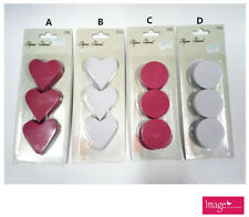 Paper Shred Heart and Round Shape Stationery Note Memo Pad Craft Works