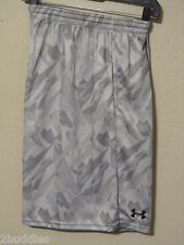 Under Armour Flex Shorts Printed Training Mens Loose 1228561 035 Gray XL Nwt