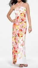 NWT Cache MAXI Stunning Bright Flower Print Dress Cruise Party    S  M  L