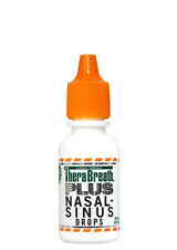 TheraBreath PLUS Nasal Sinus Drops - Extra Strength - Bad Breath & Tonsil Stones