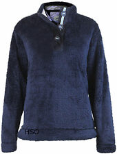 BNWT Ladies Regatta Fluffy Warm Fleece Top Jumper Navy Pink Cream Beige