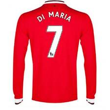 Nike Manchester United 2014/15 Home Jersey Long Sleeve Red Di Maria 7