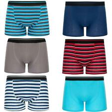 6 or 12 Boys Boxer Shorts Super Quality Underwear Ages 7-14 Cotton & Lycra
