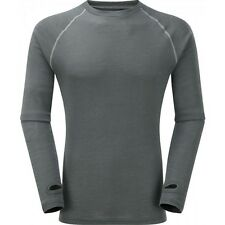 Trekmates Merino Wool Fusion L/S Base Layer For Sking/Outdoors,Thermal Top