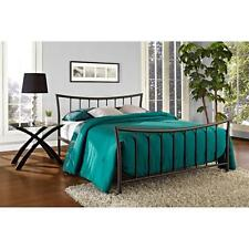 Bronze Metal Platform Bed Frame Twin Full Queen Size Bedroom Furniture Steel NEW