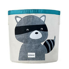 New Animal Cartoon Foldable Storage Bins Toy Container Bag Canvas Bag VT0007