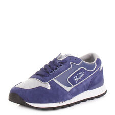 MENS ORIGINAL PENGUIN FOXTROT MAZARINE BLUE RETRO FASHION TRAINERS UK SIZE