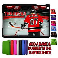 PERSONALISED CARDIFF DEVILS ICE HOCKEY UNOFFICIAL IPAD MINI SMART CASE GIFT