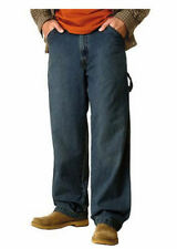 New Men's Levi STRAUSS Carpenter Jeans Relaxed Fit Work Utility Pants - Dark