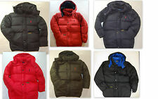 Polo RALPH LAUREN boys sz 18-20 jacket down puffer coat navy blue red black NWT