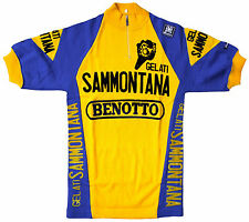 Gelati/Sammontana Vintage Retro Wool Cycling Jersey Santini Rare & Collectable!