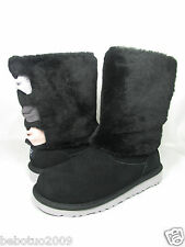 NEW KIDS GIRLS WOMEN UGG AUSTRALIA MALENA BOOT BLACK 1005397K ORIGINAL