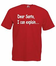 DEAR SANTA funny christmas xmas party gift present ideas top boys girls T SHIRT