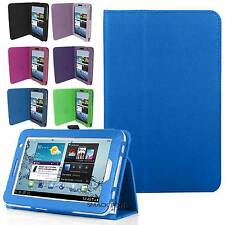 Magnetic Flip Folio Fold Cover Stand case for Samsung Galaxy Tab 2 7.0 P3100 NEW