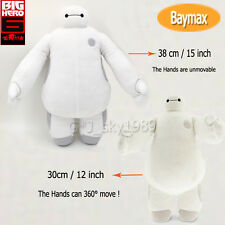 """2014 NEW DISNEY BIG HERO 6 BAYMAX ROBOT PLUSH White 15"""" or 12"""" Gift new with tag"""
