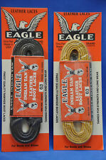 Eagle Leather Rawhide Durable Shoe & Boot Work Laces- Tan Color- NEW